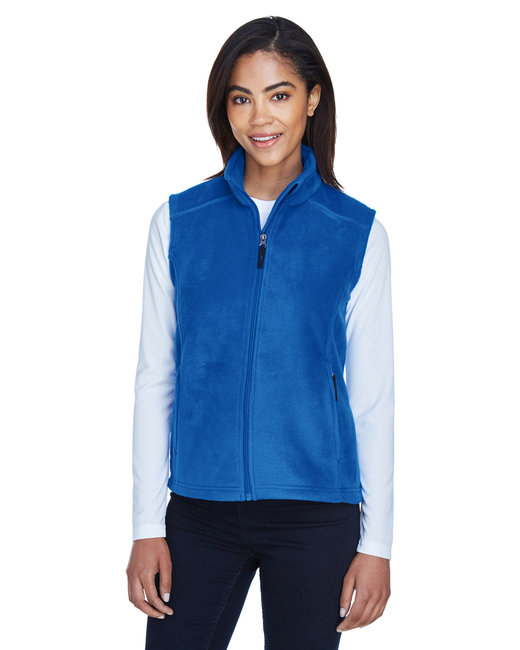 Core 365 Ladies' Journey Fleece Vest - True Royal