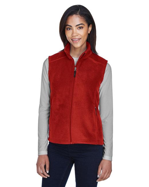 Core 365 Ladies' Journey Fleece Vest - Classic Red