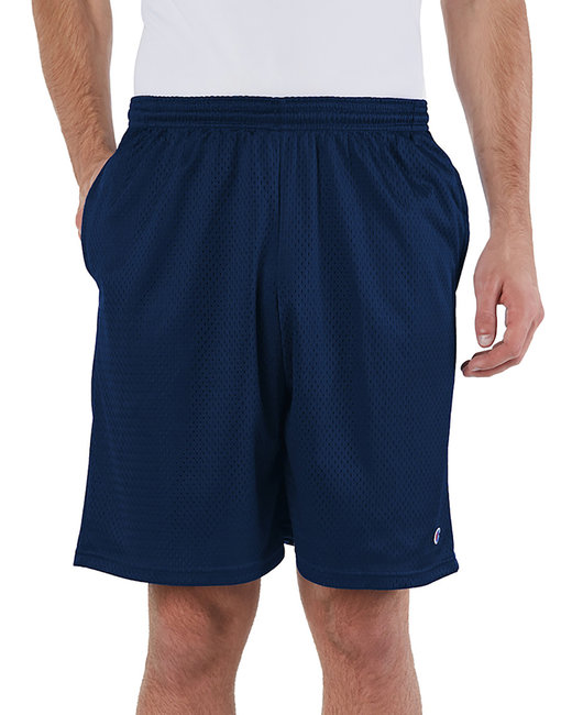 Champion Adult 3.7 oz. Mesh Short with Pockets - Navy