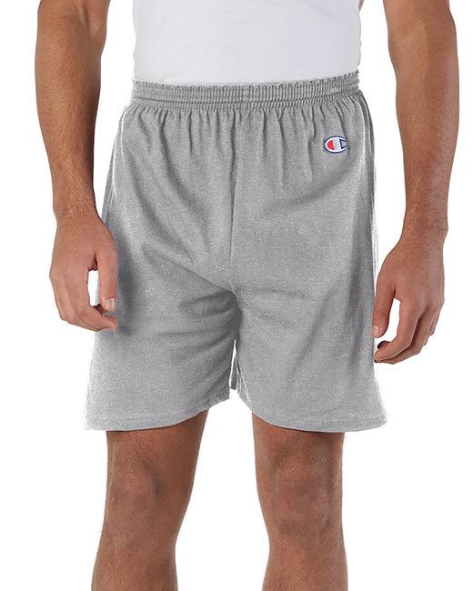 Champion Adult Cotton Gym Short - Oxford Gray