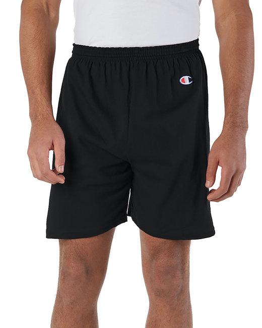 Champion Adult Cotton Gym Short - Black