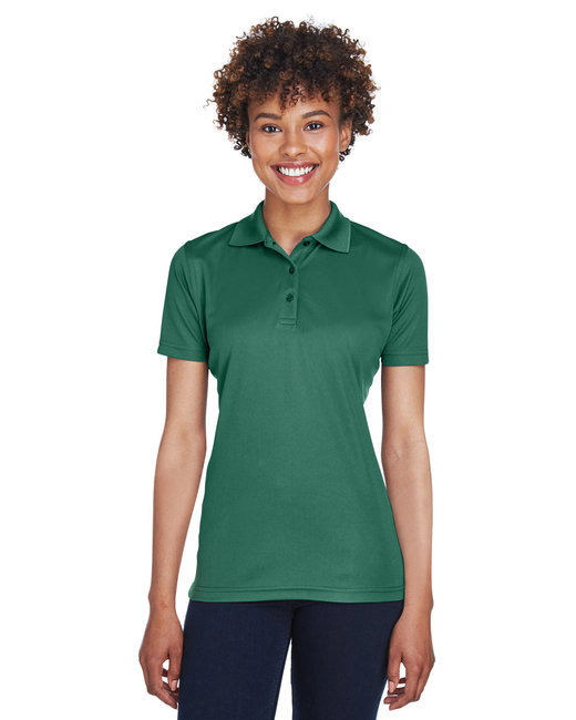 UltraClub Ladies' Cool & Dry Mesh PiquéPolo - Forest Green