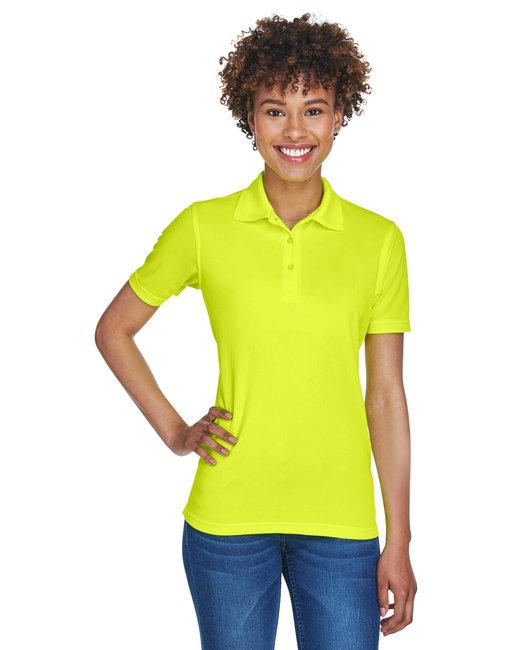 UltraClub Ladies' Cool & Dry Mesh PiquéPolo - Bright Yellow