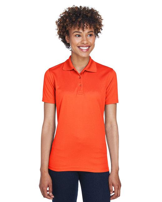 UltraClub Ladies' Cool & Dry Mesh PiquéPolo - Orange