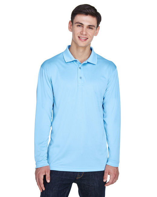 8405LS UltraClub Adult Cool & Dry Sport Long-Sleeve Polo