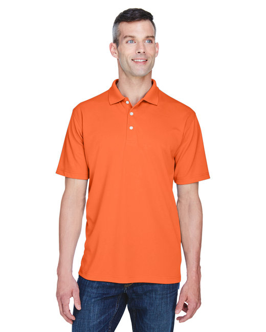 8445 UltraClub Men's Cool & Dry Stain-Release Performance Polo