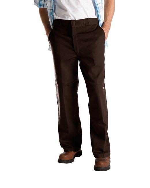 Dickies 8.5 oz. Loose Fit Double Knee Work Pant - Dk Brown  34