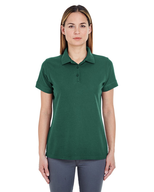 8560L UltraClub Ladies' Basic Blended Piqué Polo
