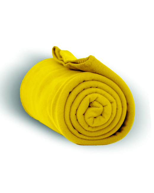 Alpine Fleece Alpine Fleece Throw Blanket - Yellow