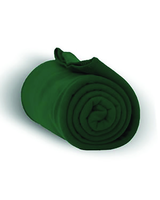 Alpine Fleece Alpine Fleece Throw Blanket - Forest Green