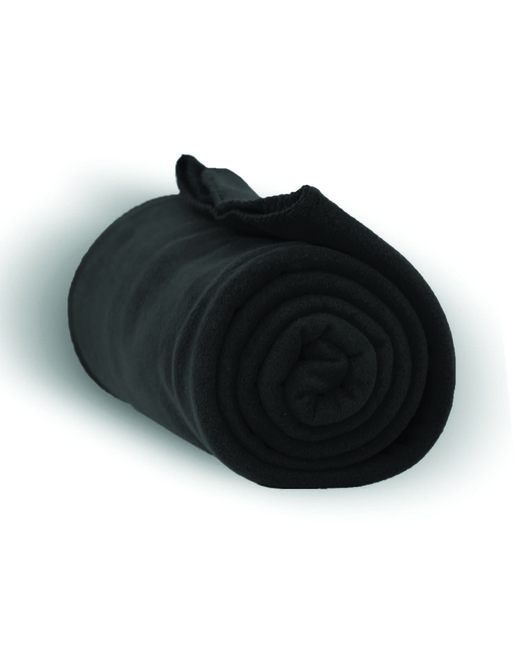 Alpine Fleece Alpine Fleece Throw Blanket - Black