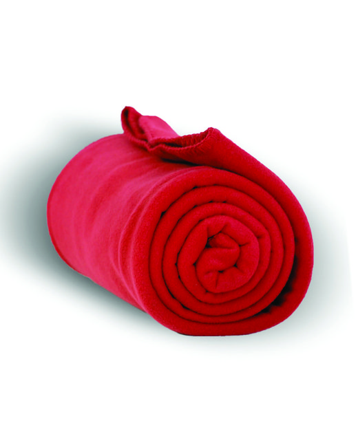 Alpine Fleece Alpine Fleece Throw Blanket - Red