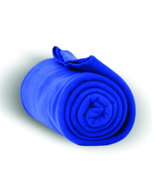 Alpine Fleece Alpine Fleece Throw Blanket - Royal