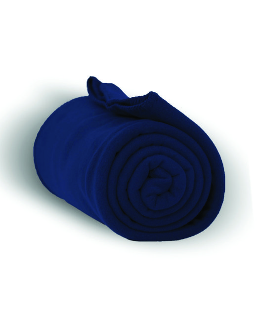Alpine Fleece Alpine Fleece Throw Blanket - Navy