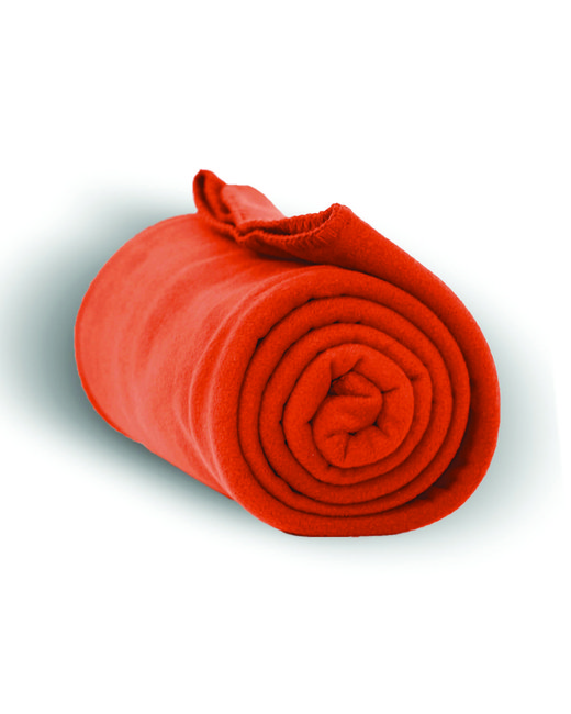 Alpine Fleece Alpine Fleece Throw Blanket - Orange