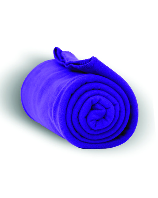 Alpine Fleece Alpine Fleece Throw Blanket - Purple