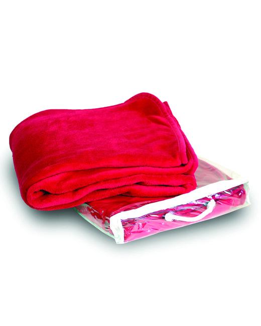 Alpine Fleece Micro Coral Fleece Blanket - Red