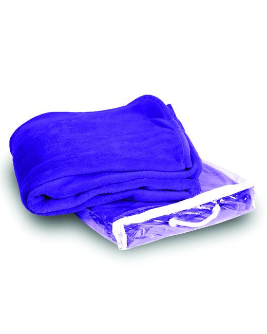 Alpine Fleece Micro Coral Fleece Blanket - Purple