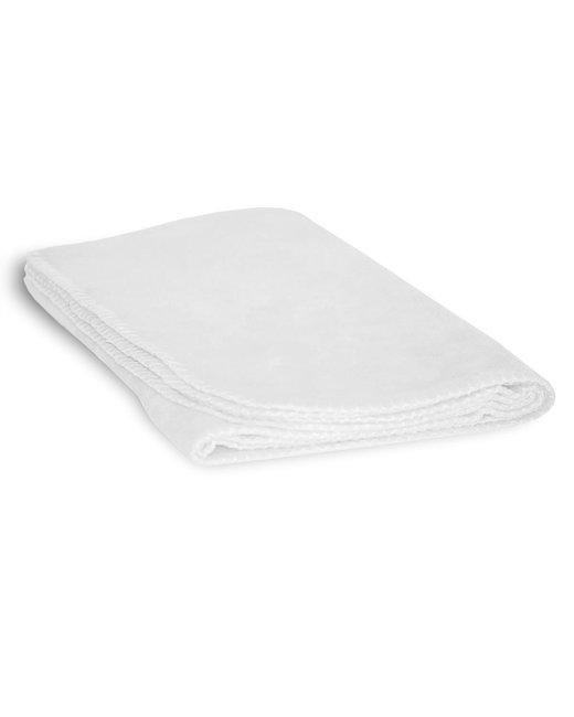 Alpine Fleece Fleece Baby Lap Pad - White