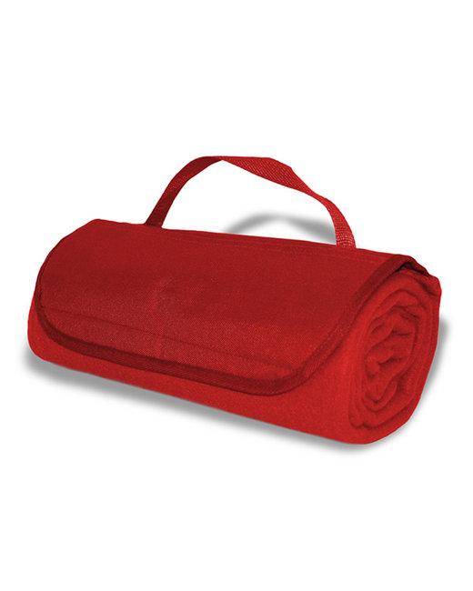 Alpine Fleece Fleece Roll Up Blanket - Red