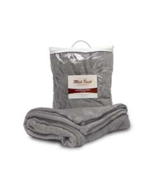 Liberty Bags Mink Touch Luxury Blanket - Grey