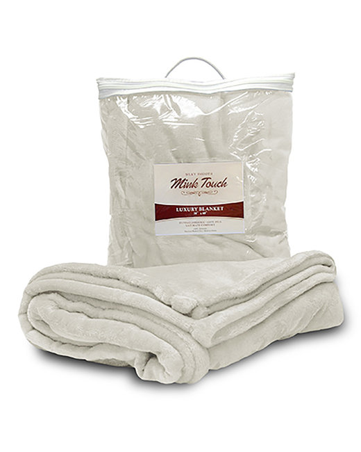 Liberty Bags Mink Touch Luxury Blanket - Cream