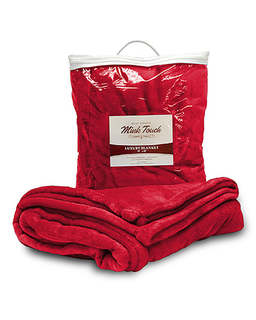 Liberty Bags Mink Touch Luxury Blanket - Red