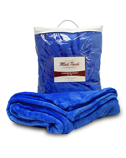 Liberty Bags Mink Touch Luxury Blanket - Royal