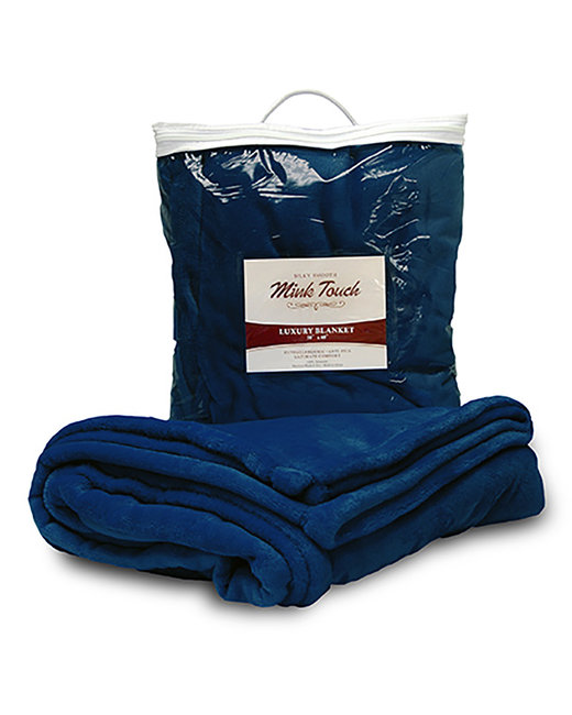 Liberty Bags Mink Touch Luxury Blanket - Navy
