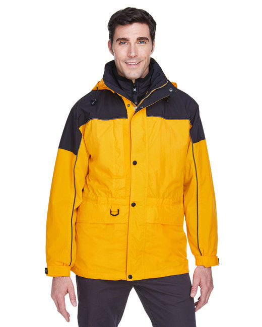 North End Adult 3-in-1 Two-Tone Parka - Sun Ray