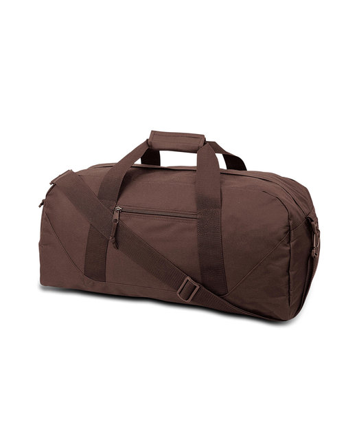 Liberty Bags Game Day Large Square Duffel - Brown