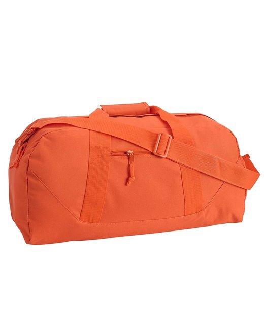 Liberty Bags Game Day Large Square Duffel - Orange
