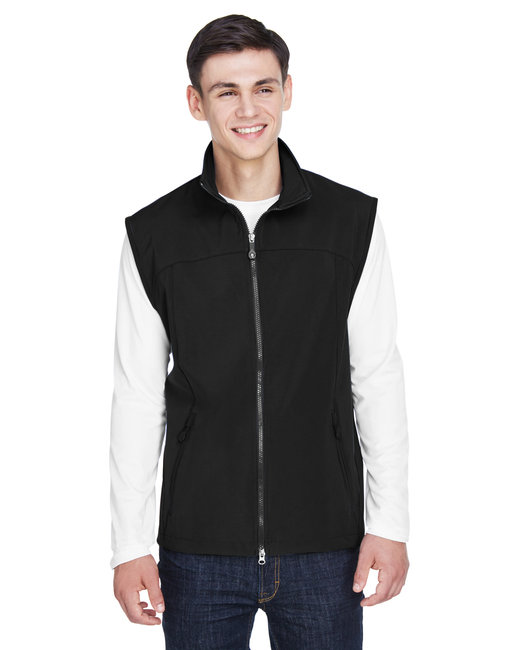 88127 North End Men's Three-Layer Light Bonded Performance Soft Shell Vest