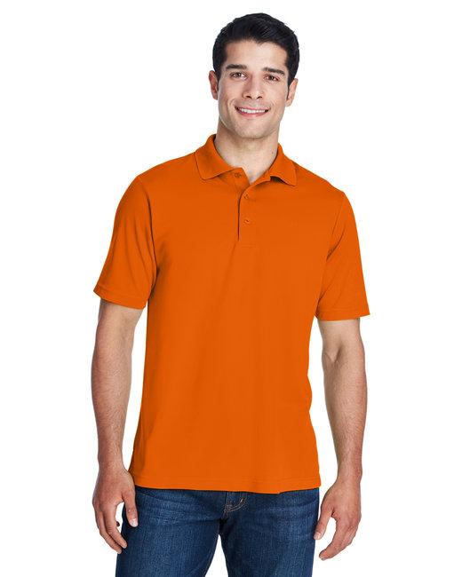Core 365 Men's Origin Performance Piqué Polo - Campus Orange