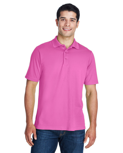 Ash City - Core 365 Men's Origin Performance Piqu� Polo - Charity Pink Mp