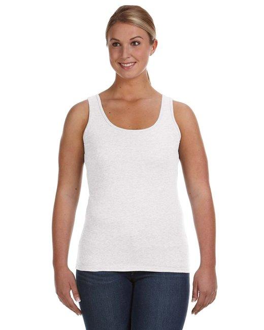 Anvil Ladies' Lightweight Tank - White