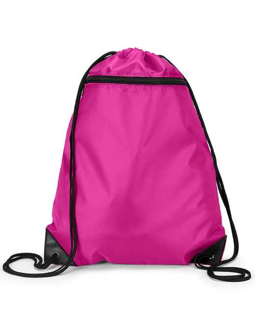 8888 Liberty Bags Zipper Drawstring Backpack