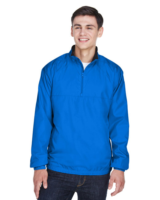 Adult Micro-Poly Quarter-Zip Windshirt
