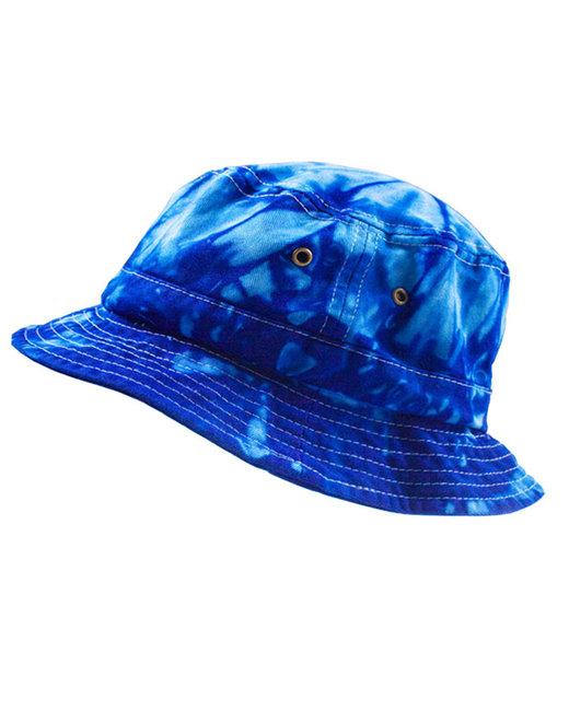 Tie-Dye Bucket Hat - Spider Royal