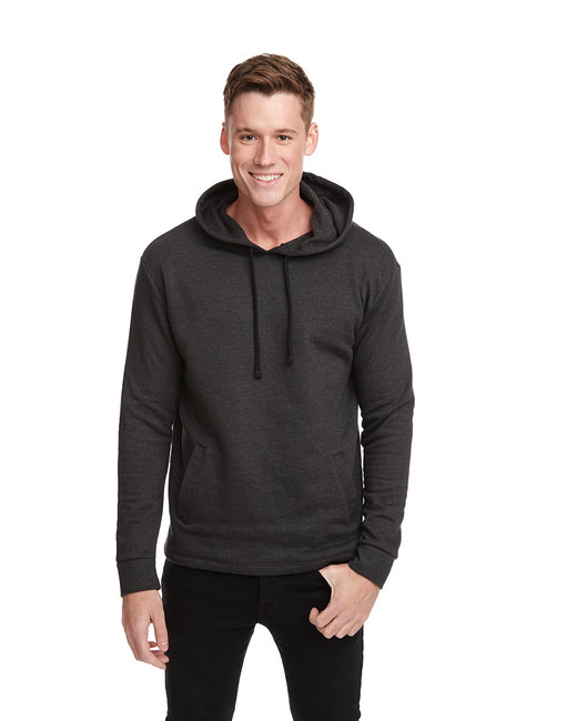 Next Level Adult PCH Pullover Hoody - Heather Black