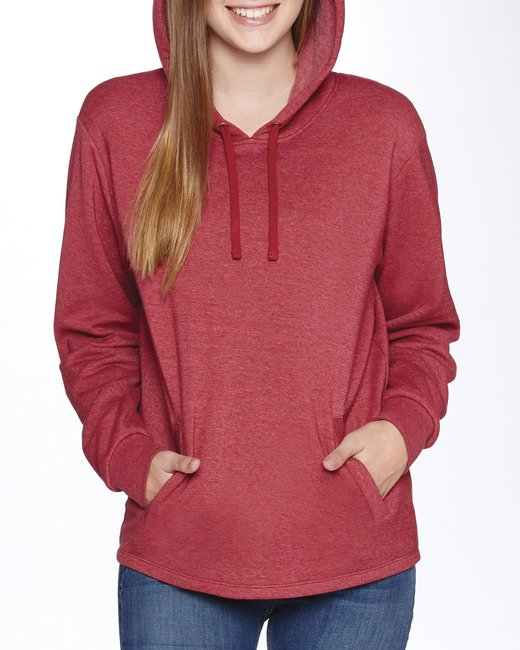 Next Level Adult PCH Pullover Hoody - Heather Cardinal