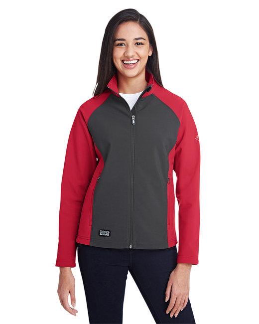 Dri Duck Ladies' Contour Jacket - Red