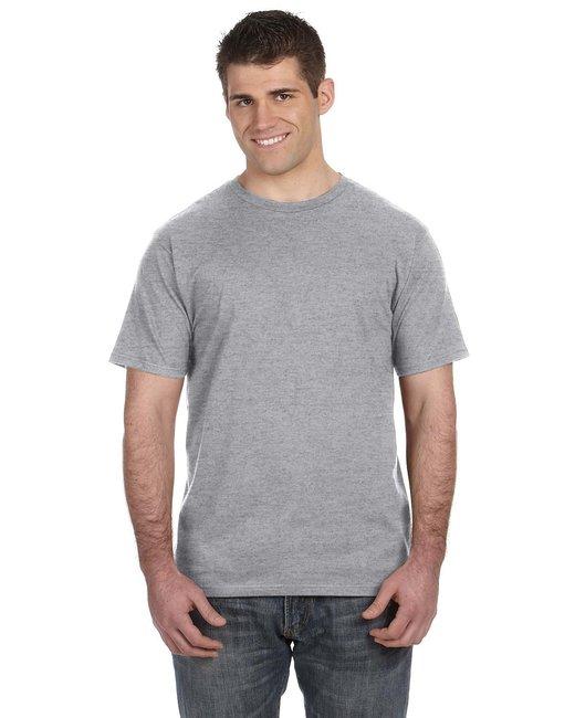 Anvil Lightweight T-Shirt - Heather Grey