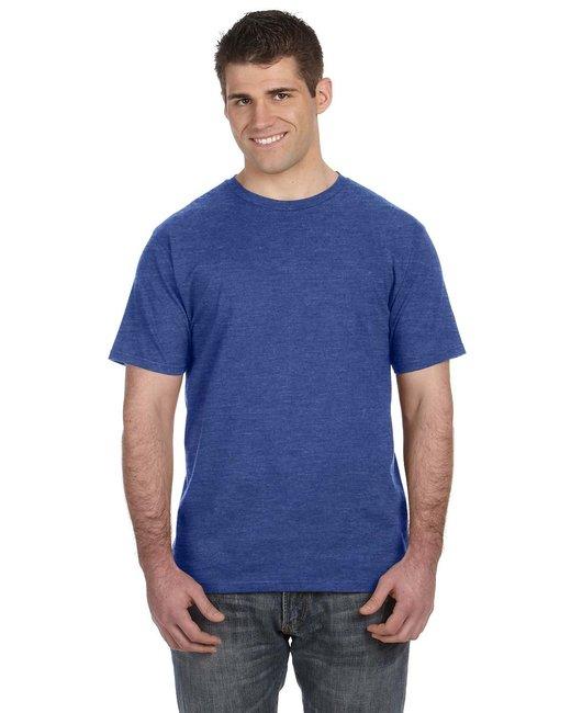 Anvil Lightweight T-Shirt - Heather Blue