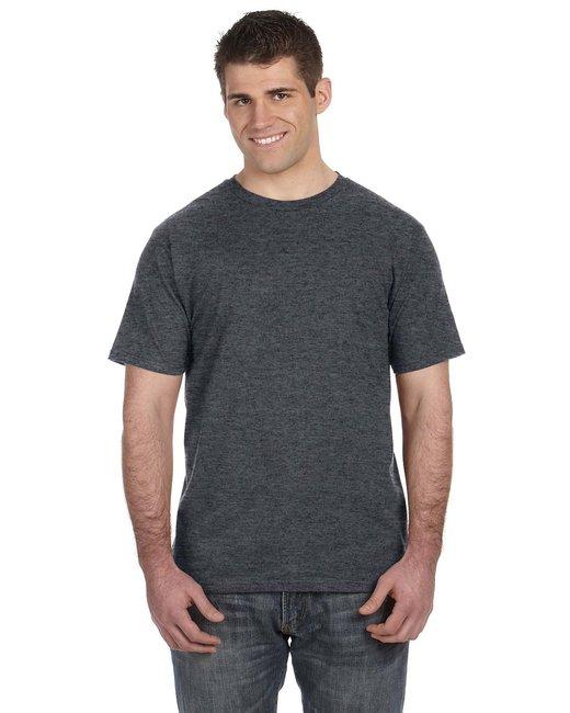 Anvil Lightweight T-Shirt - Heather Dk Grey