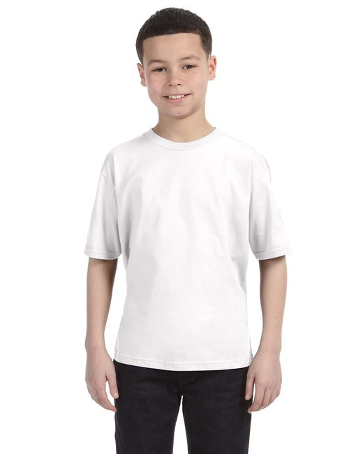 Anvil Youth Lightweight T-Shirt - White
