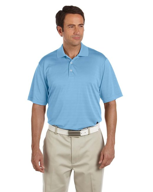 A161 adidas Golf Men's climalite Textured Short-Sleeve Polo