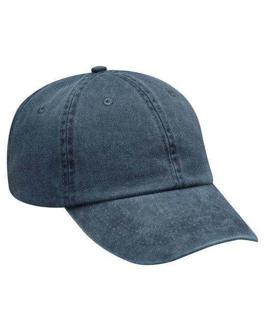 Adams Cotton Twill Essentials Pigment-dyed Cap - Navy