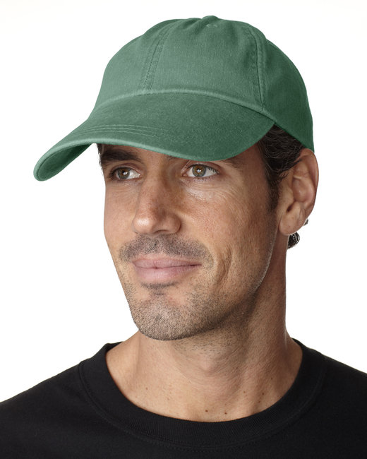 Adams Cotton Twill Pigment-Dyed Sunbuster Cap - Forest Green