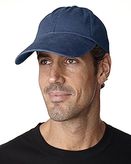 Adams Cotton Twill Pigment-Dyed Sunbuster Cap - Navy